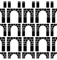 background for archway vector image vector image