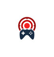 game target logo icon design vector image