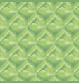 geometric pattern with green rectangles vector image vector image