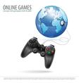 Online Games vector image
