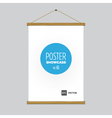poster flag vector image vector image