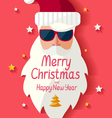 Santa Claus hipster vector image vector image