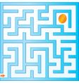 small maze vector image vector image
