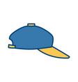 sport hat cap vector image vector image