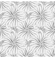 Abstract black and white seamless pattern vector image
