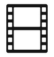 Animation film icon simple style