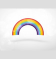 colorful rainbow color spectrum icon vector image