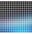 deep and pale blue rounded mosaic background over vector image