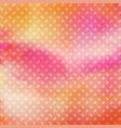 diamond pattern on watercolour texture vector image vector image