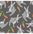 Rabbit with carrot vector | Price: 1 Credit (USD $1)
