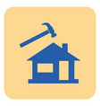 roofer slater icon vector image vector image
