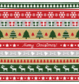 seamless christmas pattern for decoration vector image vector image