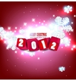 2012 glittering background vector image