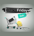 black friday household appliance sale vector image