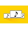 music online vector image vector image