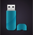 Usb icon Technology design graphic vector image vector image