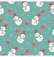 vintage Christmas seamless vector image vector image