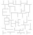 block pattern image vector image