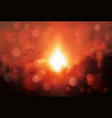 blur soft sunshine landscape background vector image
