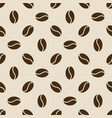 Seamless coffee beans pattern