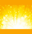 shiny sun abstract sunset background vector image