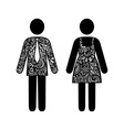 Sign of Man and Woman vector image