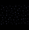 starry night sky on black background vector image vector image