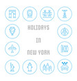 website banner and landing page holidays in vector image