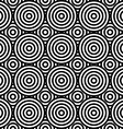 Abstract geometric seamless pattern Different vector image vector image