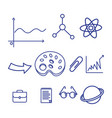 back to school element icon vector image vector image