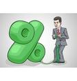 Businessman raises interest rates