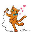 cat sings a love song