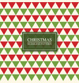christmas seamless colorful mosaic pattern bright vector image
