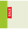 cloth sale vector image vector image