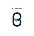 Creative B - letter icon vector image