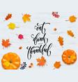 Happy thanksgiving holiday autumn fall pumpkin