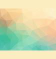 pastel color polygonal texture vector image vector image