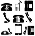 Phones vector image vector image
