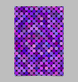 purple abstract dot pattern brochure background vector image vector image