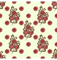 Red berries on the branches seamless pattern vector image vector image