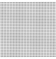 seamless background with black dots vector image vector image