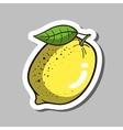 LemonSticker vector image