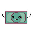 big dollar bill vector image