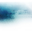 color abstract geometric banner with vector image vector image