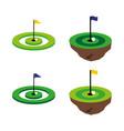 golf6 vector image vector image