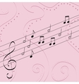 music pattern delicate color pattern texture vector image vector image