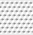 white cubes pattern seamless background vector image vector image