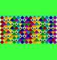 a flock of parrots vector image