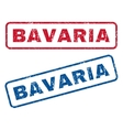 Bavaria Rubber Stamps vector image vector image