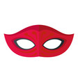 dark mask icon flat style vector image vector image